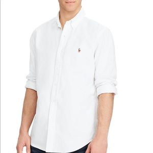 NWT Polo Ralph Lauren Classic Fit Oxford Button Up
